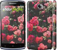 "Чехол на Lenovo S920 Куст с розами ""2729c-53"""