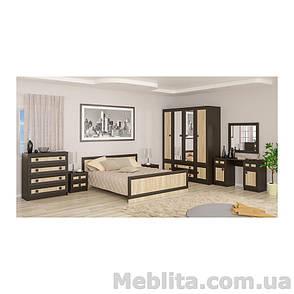 Кровать Даллас венге Мебель-Сервис , фото 2