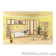 Шкаф 2Д3Ш Дисней Мебель-Сервис , фото 3