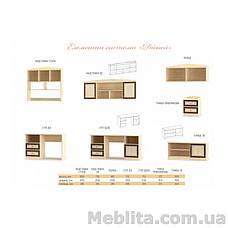 Пенал 2Д открытый Дисней Мебель-Сервис , фото 3