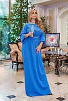 """Длинное платье больших размеров """" Классика """" Dress Code, фото 1"""