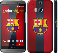 "Чехол на HTC One M8 dual sim Барселона  v3 ""2763c-55"""