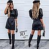 Платье женское кож зам № 713 крас
