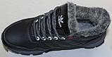 Ботинки кожаные зимние мужские от производителя модель БФБ52, фото 4