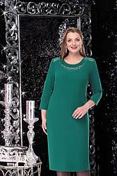 Платье женское Беларусь модель Л-11047-19 зеленое