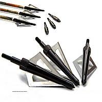 Наконечники для стрел острые, подходят на лук и арбалет в охотничьих целях, фото 1