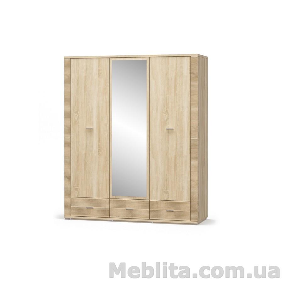 Шкаф 2Д1дз3Ш Гресс Мебель-Сервис