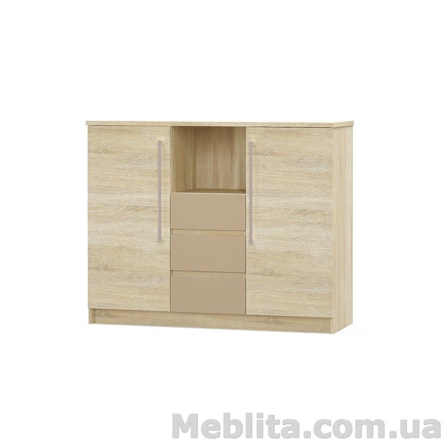 Комод Аляска 2Д3Ш Мебель-Сервис