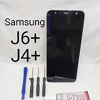 Модуль, тачскрин, сенсор Samsung Galaxy J6+, J4+, J6 plus