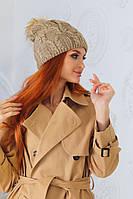 """Стильная женская шапка """" Бусинка""""  Yulia, фото 1"""