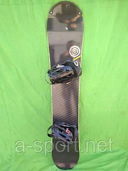 Сноуборд бу Nitro Team Shekier 157 см + кріплення