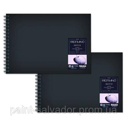 28021660 Альбом для эскизов Sketch Book А4 (21х29,7 см) 110 г/м.кв. 80 листов в твердом переплете на спирали