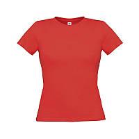 Жіноча приталена футболка з коротким рукавом