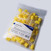 Automix Tips Yellow 1:1, 50 шт, автосмешивающие насадки, DMG