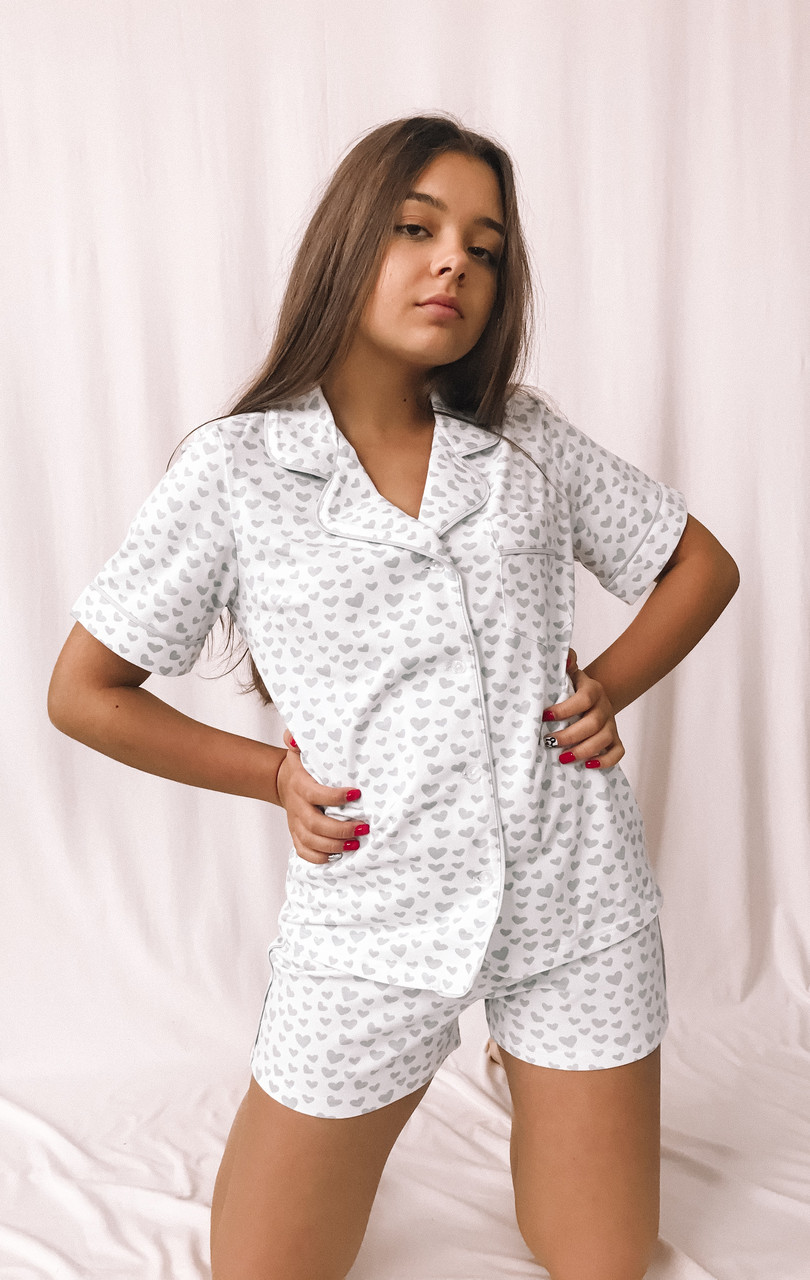 Костюм домашний женский MODENA  DK099-3 (рубашка и шорты)