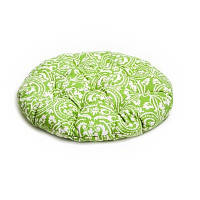 Подушка на стул (фреска-олива) D-40см. Набор из двух штук.