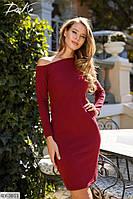 Платье женское приталенное р-ры 42-48 арт 41259