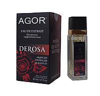 Натуральная парфюмированная вода DEROSA 30 мл AGOR