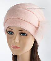 Оригинальная вязаная шапочка Сафина сакура