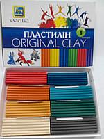"""Мицар Пластилін """"Класика"""" 8 кольорів, фото 1"""