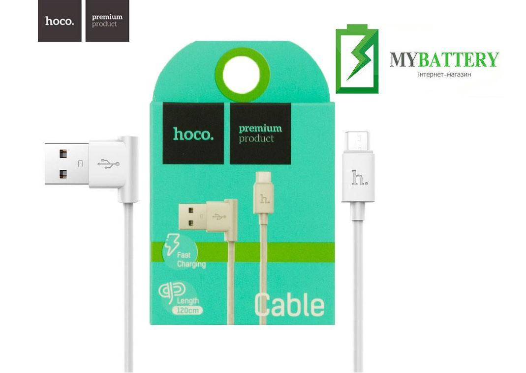 USB кабель Hoco UPM10 Micro USB, Fast Charging белый
