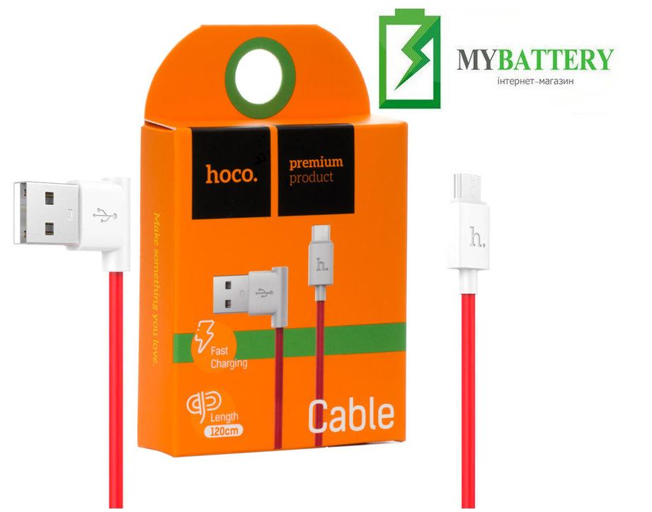 USB кабель Hoco UPM10 Micro USB, Fast Charging красный