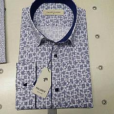Акция!!! Мужская рубашка стрейч-коттон Palmen
