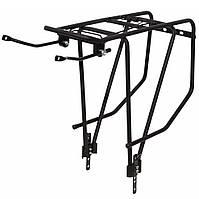 """Багажник для велосипеда 28"""" Dorozhnik COMFORT MALE (черн. мат.)"""