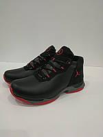 Зимнее мужские кожаные кроссовки Extrem размеры 40,43арт. 2162 чер, фото 1