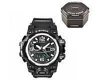 Часы наручные C-SHOCK GWG-1000A Black-Silver + BOX