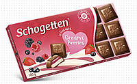 Молочный шоколад in love with' Cream & Berries  (фруктовий крем) 100 г