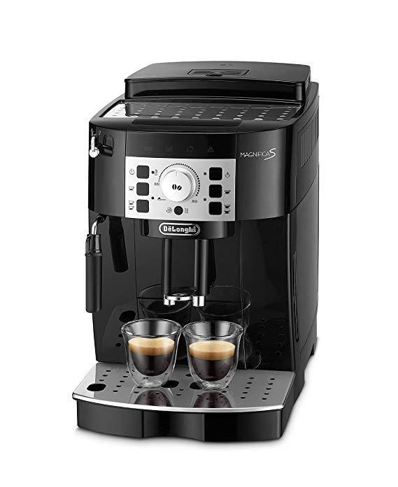 Полностью автоматическая кофемашина De'Longhi для кофейных зерен ECAM22.110.B, 220 Вт   Б/У