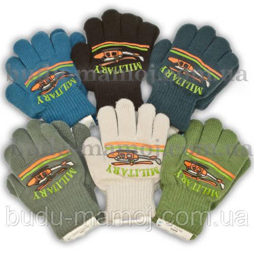 Детские теплые перчатки для мальчика рукавички 1 2 3 года Польша