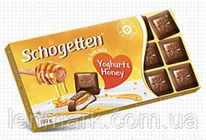 Молочный шоколад Schogetten 'in love with' Yoghurt & Honey (со вкусом йогурта и меда) 100 г