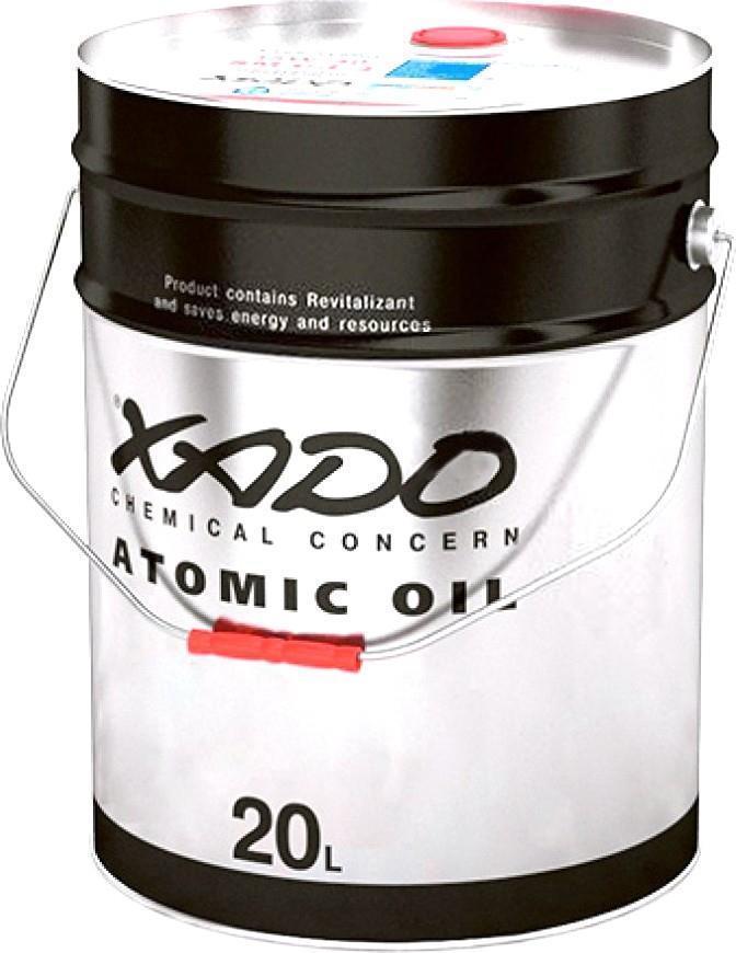 Минеральное гидравлическое масло XADO Atomic OIL Hydraulic VHLP 46 20л