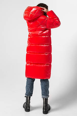 Зимняя женская куртка KTL-333 из новой коллекции KATTALEYA кораллового цвета, фото 2