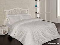 Комплект постельного белья First Choice Сатин Люкс Vanessa Crem, фото 1