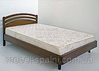 """Кровать детская подростковая деревянная """"Натали"""" kr.nt1.1"""