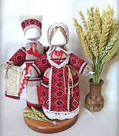Кукла-мотанка КЛЮЙ Неразлучники Ольга и Павло 25см Разноцветная (K0025NOP)