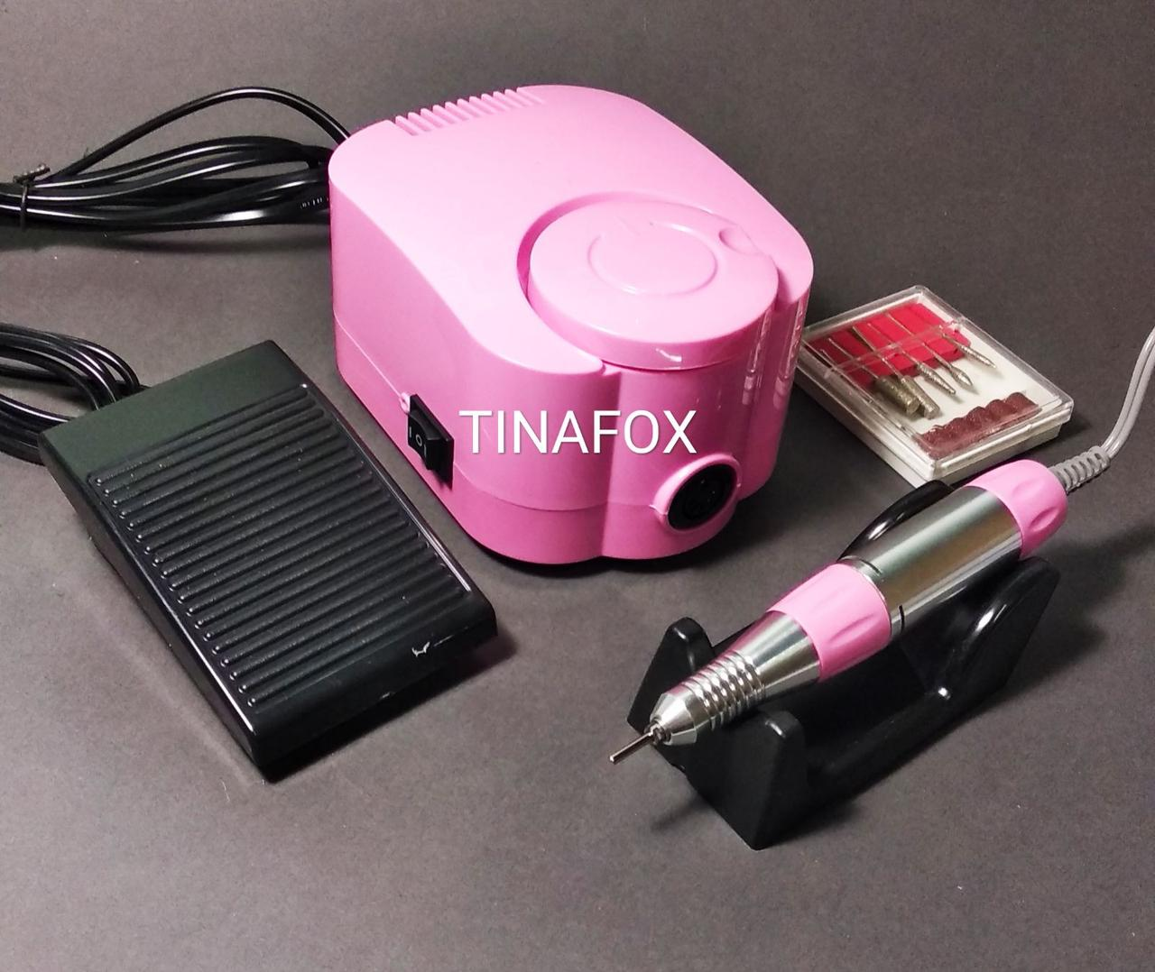 Фрезер для маникюра и педикюра DM-215 розовый