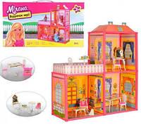 Кукольный домик 6984 (2 этажа, 3 комнаты, мебель)