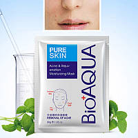Маска для подростковой кожи BioAqua Pure Skin Acne & Rejuvenation Moisturizing Mask