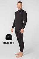 Мужское термобелье Radical EDGE, комплект термобелья с шапкой в подарок! S