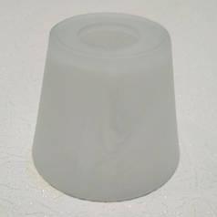 Плафон для люстры, диаметр верхнего отверстия 4,2 см, высота 10см