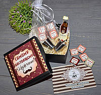 Мужской подарочный набор с виски на День Защитника Украины