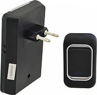 Дзвінок дверний бездротовий Luckarm А3905 220В, чорний, фото 1