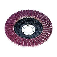 Круг пелюстковий торцевий / Круг лепестковый торцевой Ø115мм зерно 100 Sigma (9171101)