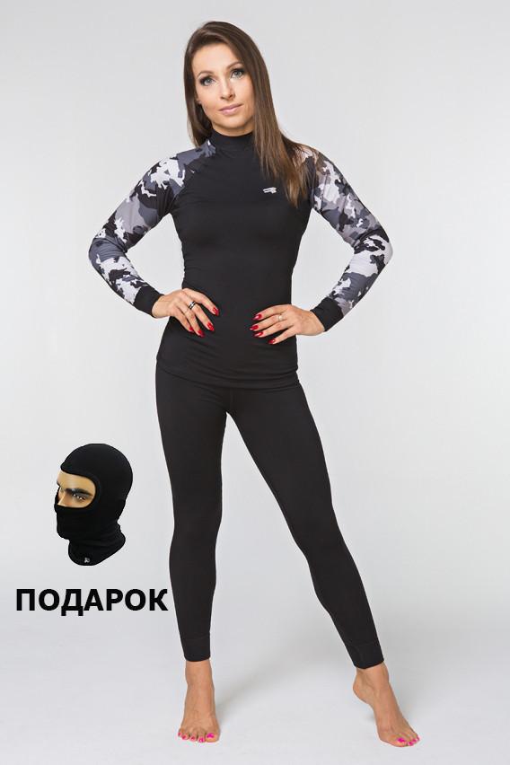 Комплект жіночої білизни Radical Shooter, спортивне термобілизна з балаклавою у подарунок!
