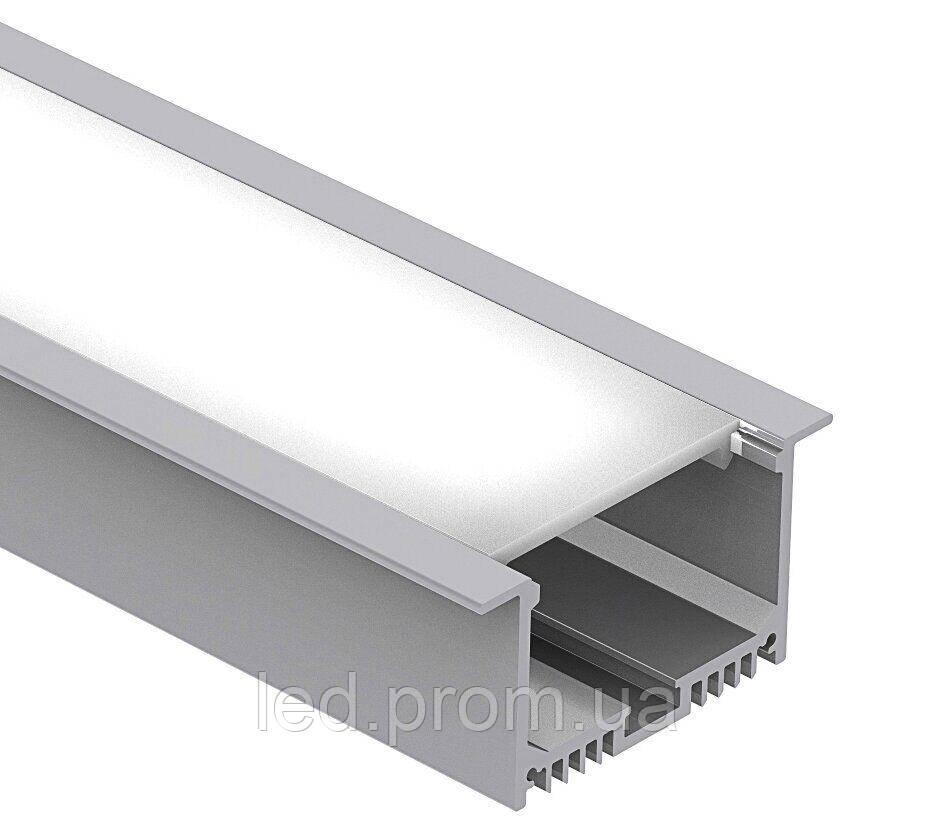 LED-профиль врезной LE6332 (2,5 метра)
