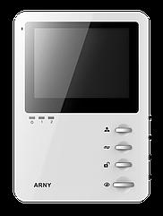 Домофон Arny AVD-410 с механическими кнопками